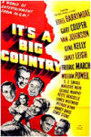 Poster It's a Big Country