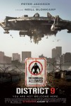 Poster Cartel de District 9