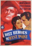 Poster Diez Héroes de West Point