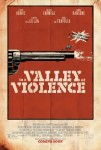 Poster In a Valley of Violence