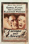 Poster Escape me Never (1947)