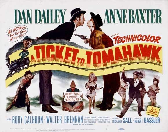 Billete A Tomahawk [1950]