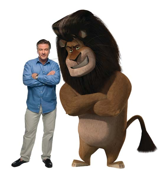 Characer voice in madagascar movie