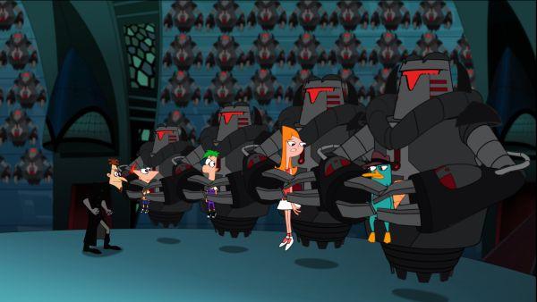 Fondo Desenhos Para Pintar Phineas Galer Genes Pel Cula