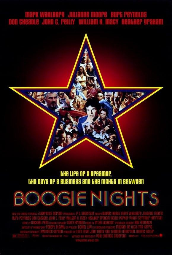 Cartel de Boogie Nights
