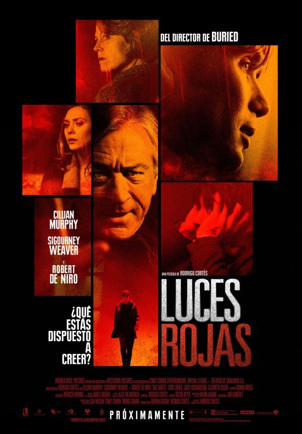 Cartel final de Luces rojas