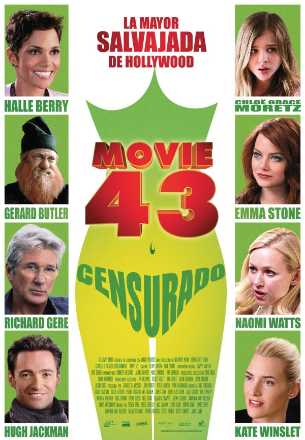 Cartel de Movie 43