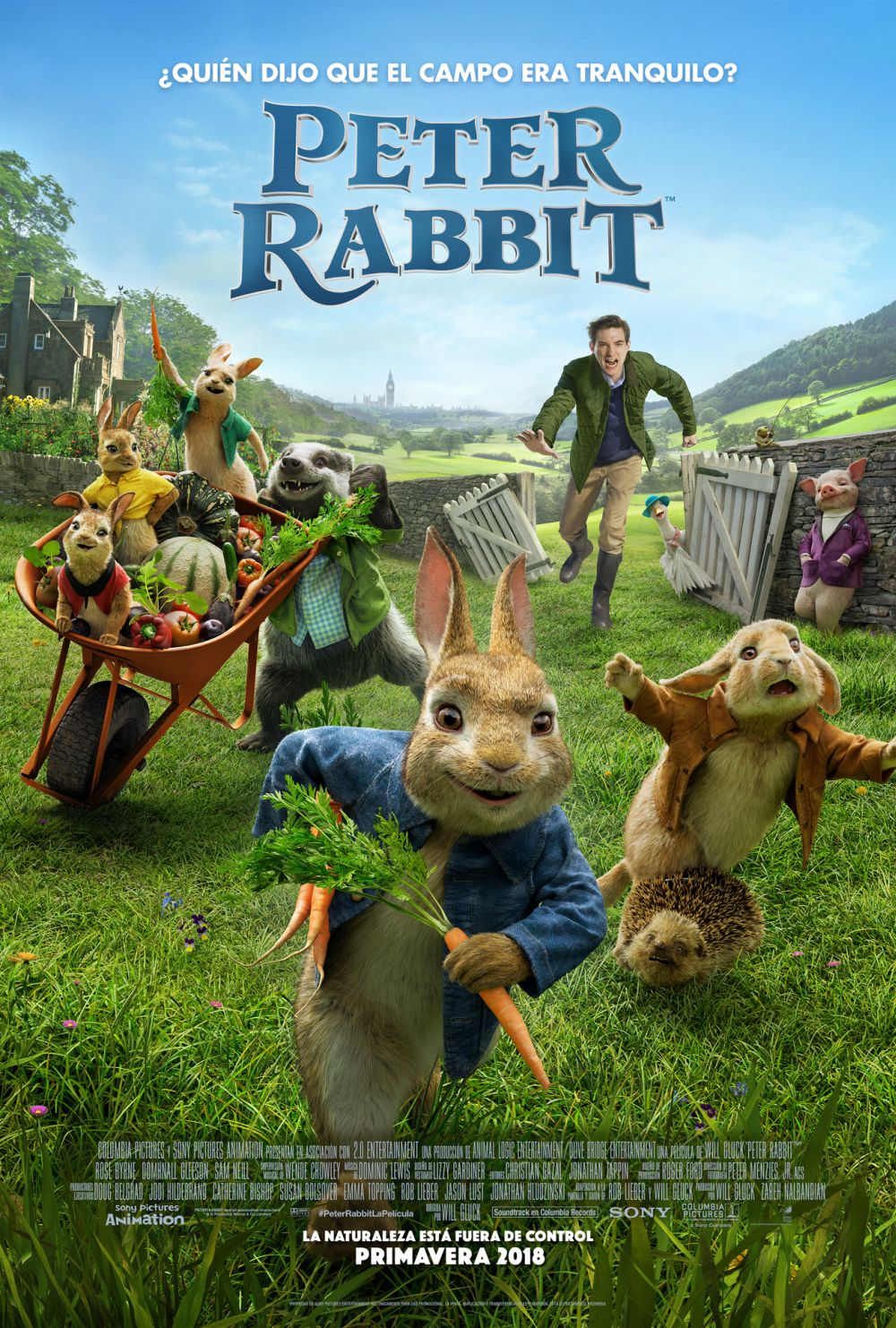 Cartel de Peter Rabbit