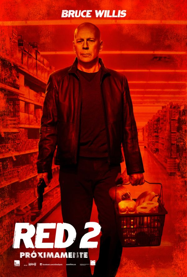 Cartel promocional de RED 2