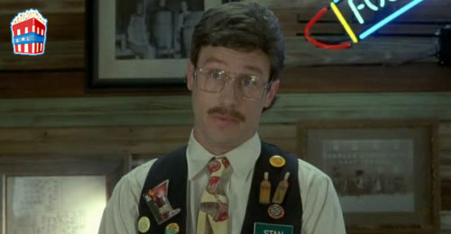 You know the nazis had pieces of flair they made the jews wear - Office space pieces of flair ...